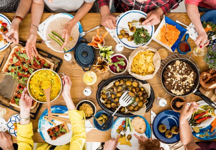 Gros plans sur les différents types de régimes alimentaires